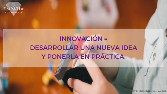 Innovación, Marca, Desarrollo para pequeñas Marcas y sus Autores
